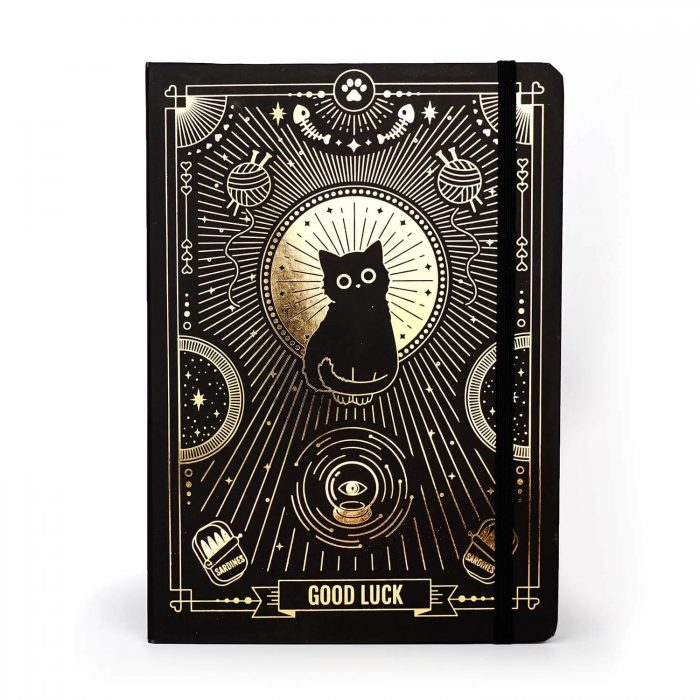 Good luck cat journal