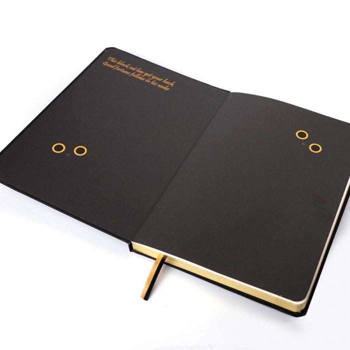 Good luck cat journal
